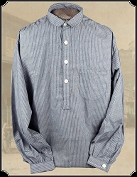 Black Stripe Frontier Shirt Cotton