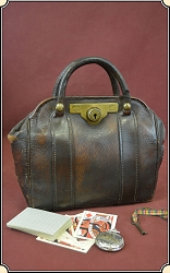z Sold Banker's Stagecoach bag