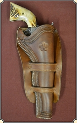 Traditional (2) Cheyenne holster styling for 7 1/2 in. barrel - Right Hand