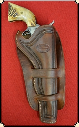 Traditional (1) Cheyenne holster styling for 7 1/2 in. barrel