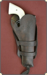 Antique OLIVE Brand Holster for a Colt 1873 4 3/4 or 5 1/2 inch barrel