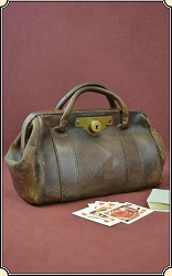 z-Sold Banker's Stagecoach bag
