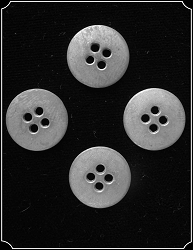 Buttons ~ Pewter Buttons Pack of 4
