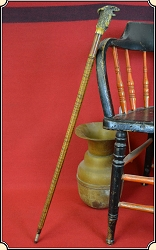z-Sold One of a kind folk art sword cane