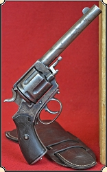 Z Sold Antique .44 WCF Frontier Army Revolver with original Antique holster