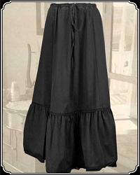 Ladies Cotton Petticoat Frontier Classics