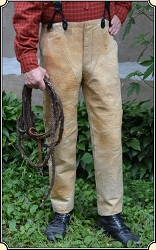 Antique 1860 ELK Hide Trousers