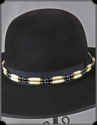 Two Strand Bone Hat Band