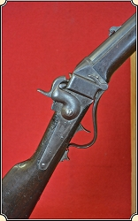 "Z- Sold Antique ""BLEEDING KANSAS"" Slant Breech SHARPS Carbine"