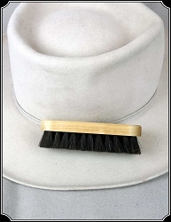 Men's Hat - Hat Brush Dark