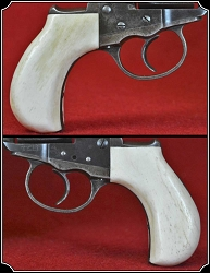 Colt Lightning & Thunderer Grips ~ Hand made Bone one piece Grips RJT#5528