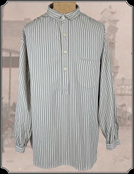 Frontier Shirt In Cotton Ticking