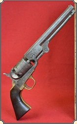 z Sold Antiqued and Defarbed 1851 Colt Navy percussion revolver.
