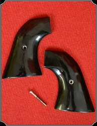 Grips ~ Hand made Buffalo Horn two piece Grips RJT#5563