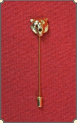 Roughing Lion Stick Pin