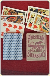 Faro Cards -  Steamboat or Poker