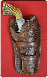 z Sold Vintage Colt Single Action Army holster for 4 3/4