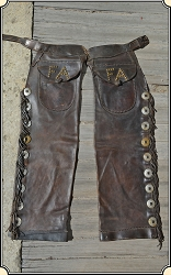 (Make offer) Original Antique shotgun chaps.