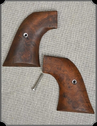 Burl Walnut grips for Ruger OLD Model Vaquero, Single Six and Blackhawk RJT#5658