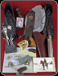 (MAKE OFFER) Old West RUMMAGE SALE
