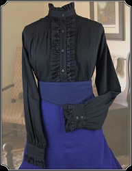 Ruffled Blouse by Frontier Classics