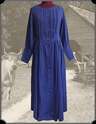 Pioneer Dress From Frontier Classics