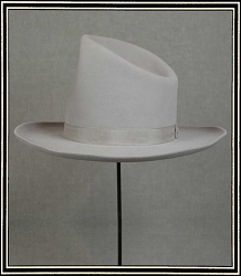 Close Out Hat - 10X quality hat size 7 1/4 Pre-Styled hat
