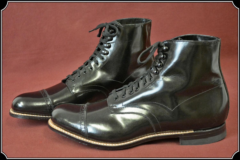 Boots Men's Hi Top Dress Shoe Leather