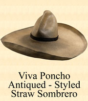 Antiqued Viva Poncho