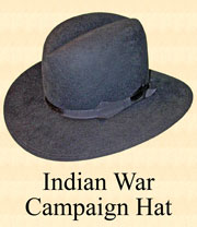 Indian War Hat