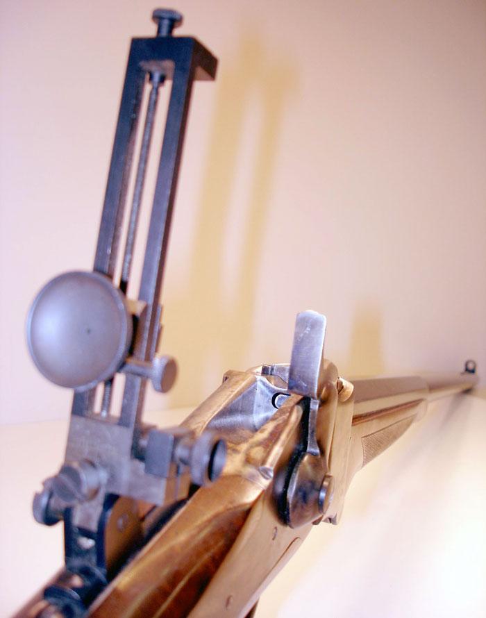 z Sold ~ Pedersoli Sharps Cal  40-65 Winchester Rifle
