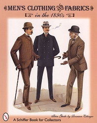 z-Sold Books - Men's Clothing and Fabrics in the 1890s