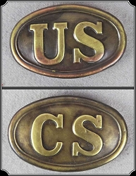 Buckle - Civil War belt buckle