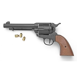 Blank firing revolver - 9mm - blued