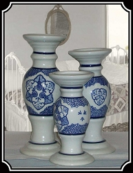Lamps -  Pillar Candlesticks