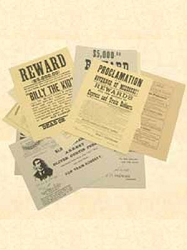 Authentic Reward Posters / Documents - pkg 6