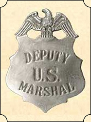 Badge - Dep. US Marshal - Shield Eagle