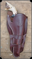 Holster - Mexican Double Loop Holster Copied from original in the River Junction Collection