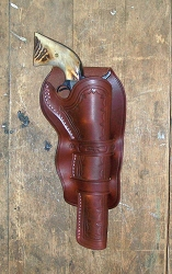 Z Sold Holster - Fancy Mexican Double Loop Holster