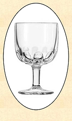 Saloon - Set of 4 Monte Beer Glasses - 8 oz.