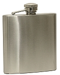 Saloon - Stainless Steel Hip Flask  - 6 oz.