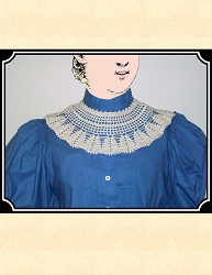 Collar - Crocheted Collar - Victorian