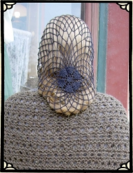 Ladies Hat - Hand-made Crocheted Snood