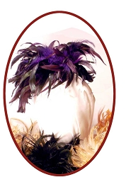Ladies Hat - Ladies' 19th Century Hat - Evening or Day Fascinator