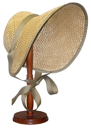 z-Sold Ladies Hat - Old-fashioned Straw Bonnet