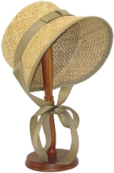 z-Sold Ladies Hat - Straw Settler's Bonnet