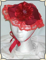 Ladies Hat - Ladies Dainty Civil War Bonnet