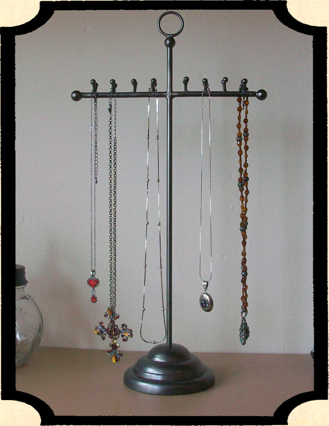 Industrial Jewelry Stand