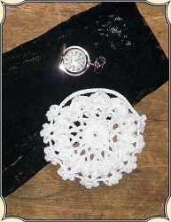 Ladies Crocheted Watch Holder