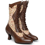 z-Sold Shoes - Ladies Elizabeth Shoe - Tall lace-up